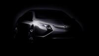 Genève 2009 : un concept Ampera pour éclairer le stand Opel