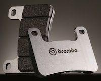 Brembo RC et SC: plaquettes avec de petits bouts de racing dedans
