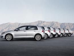 Volkswagen : 30 millions de Golf dans la nature