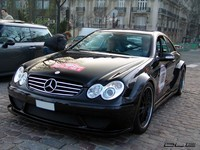 Photo du jour : Mercedes CLK DTM AMG