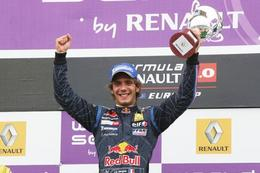 Jean-Eric Vergne en F3 britannique en 2010