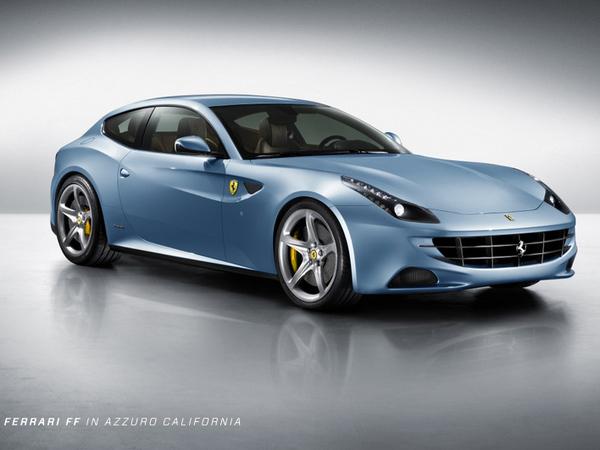 Ferrari FF : de toutes les couleurs