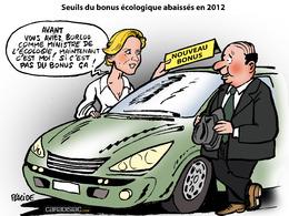 Le dessin du jour - Double bonus en 2012