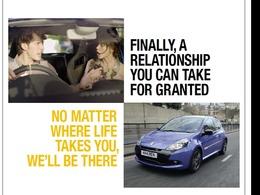 Pub St Valentin : Renault et la fidélité