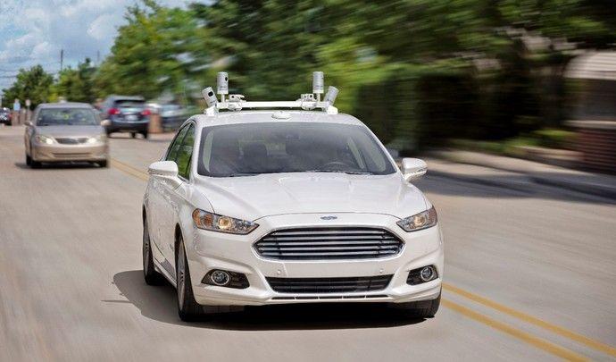 Ford souhaite commercialiser une voiture 100% autonome en 2021