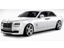 Rolls Royce Ghost par Vorsteiner : dénaturée ?