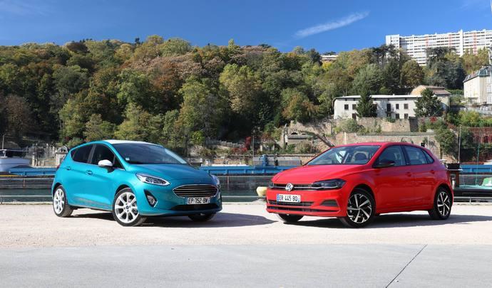 Comparatif vidéo - Ford Fiesta (2017) vs Volkswagen Polo (2017) : les européennes