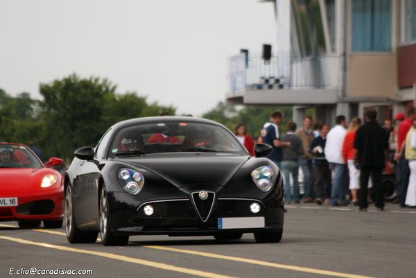 Photos du jour : Alfa 8C Competizione