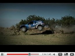 Dakar 2010 : Subaru Forester STi-Elaion au départ [vidéo]
