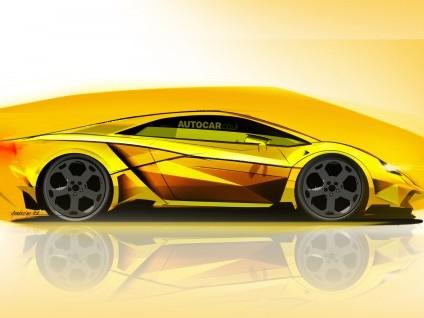 Future Lamborghini Gallardo: comme ça?