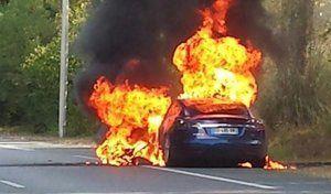 Nouvelle Tesla en feu : que faut-il en penser ?