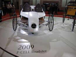 En direct du Salon de Francfort : le Mercedes-Benz F-CELL Roadster