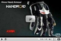 Les gants Knox Handroïd sont bientôt dispo...