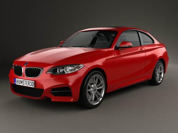 La future BMW Série 2 imaginée en 3D
