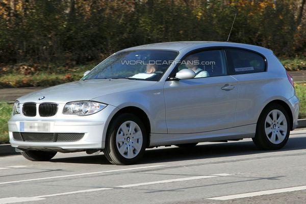 Spyshot : la BMW Serie 1 hybride est de sortie