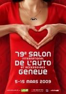 Salon de Genève 2009 : plein de nouveautés seront présentées