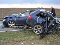 St Christophe a oeuvré : Audi RS6 Avant ...et après !