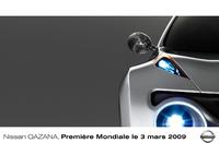 Genève 2009 : Nissan Qazana en approche