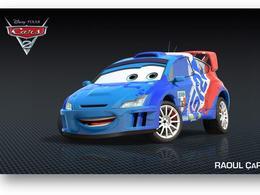 Cars 2 au cinéma : Raoul CaRoule rendra hommage à Sébastien Loeb et à sa Citroën C4 WRC