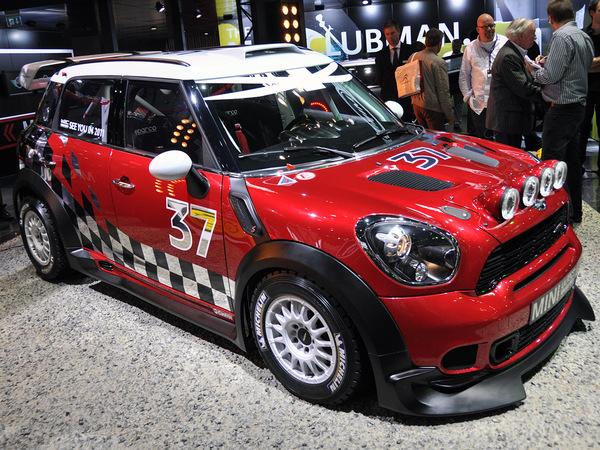Une Mini Countryman WRC de série en préparation?