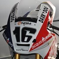 Moto 2 - France D.1: Jules Cluzel nous dévoile sa moto spécialement décorée pour le rendez-vous national !