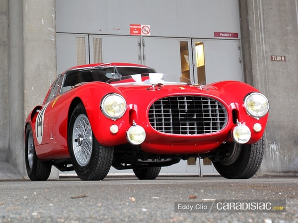 Photos du jour : Ferrari 250 MM (Rétromobile 2013)