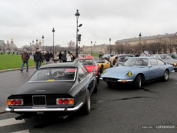 Photos du jour : Ferrari 365 GT 2+2 (Traversée de Paris)