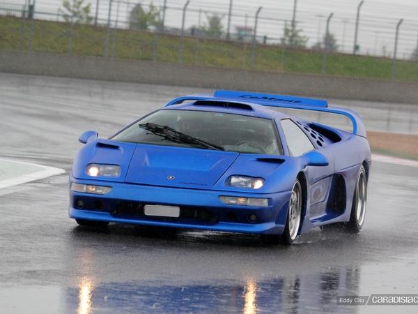 Photos du jour : Lamborghini Diablo Evolution GTR Le Mans (GT Days 2013)