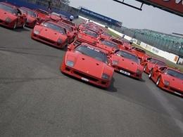 La Ferrari F40 va fêter ses 25 ans à Silverstone