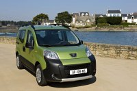 Le Peugeot Bipper Tepee Outdoor 1.4 l HDi 70 ch ? 119 g CO2/km