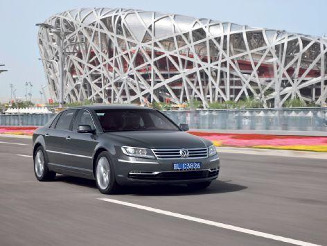 Volkswagen Phaeton II: plus légère et plus efficiente