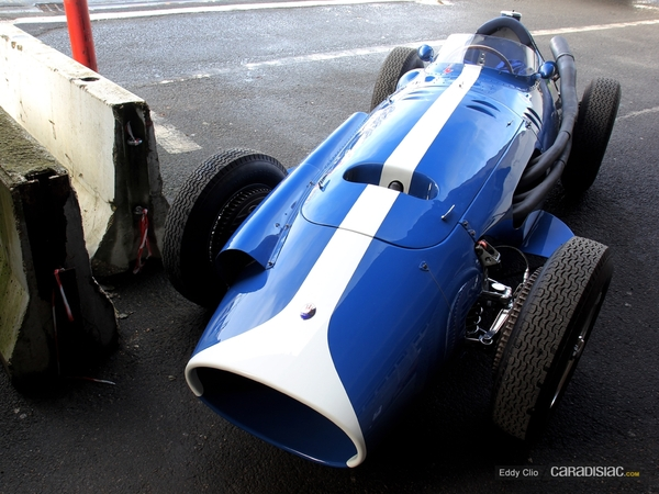 Photos du jour : Maserati 250 F (Rétromobile 2013)