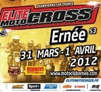 Motocross Elite : 4ème épreuve dimanche 1er avril à Ernée