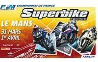 Championnat de France SBK 2012 : Ouverture ce week-end au Mans