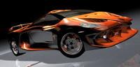 Lamborghini Alar 777: Le taureau prend des airs de vache folle.