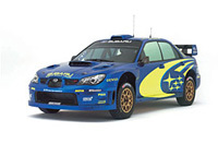 Présentation de la Subaru Impreza WRC2007