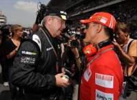 """Le retour de Schumi en F1 est """"hautement improbable"""" selon sa porte-parole."""