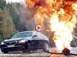 [Vidéo] Les BMW blindées en stage de combat sur une ancienne base soviétique