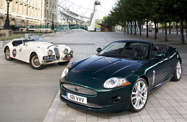 Jaguar XK60 au British International Motor Show 2008