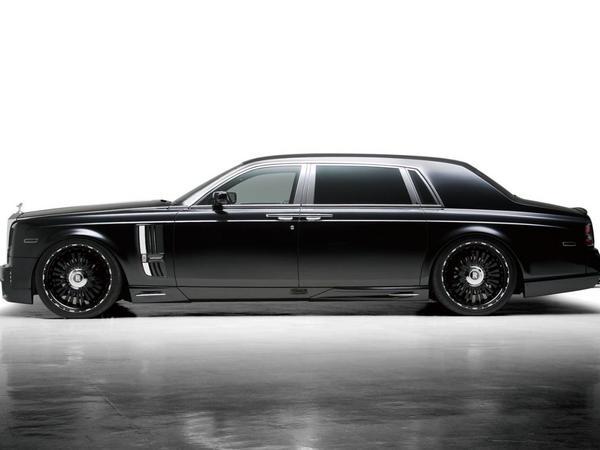 Rolls-Royce Phantom EW par Wald, obscure limousine en 24 pouces