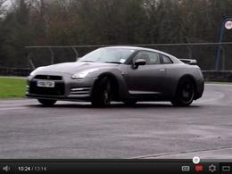 BMW M5 F10 vs Nissan GT-R 2012 : Chris Harris insiste