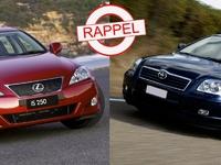 Dernier rappel géant de Toyota : les modèles concernés en France