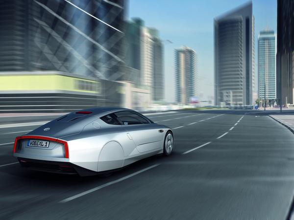 Le Volkswagen XL1 Concept en vidéo