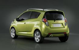 Chevrolet Spark en détail : une étincelle dans le regard