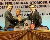 Véhicules électriques : Proton et Detroit Electric main dans la main