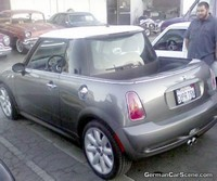 Une Mini Cooper S pick-up !