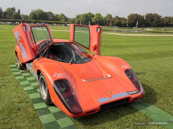 Photos du jour : McLaren M12 1969 (Concours d'élegance de Chantilly)