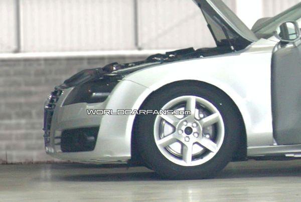 Future Audi A7 : la voilà