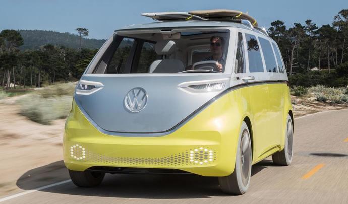 Volkswagen lancera l'utilitaire électrique Cargo en 2022