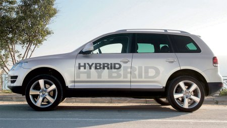 un nouveau suv hybride le volkswagen touareg hybrid. Black Bedroom Furniture Sets. Home Design Ideas